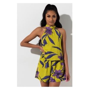 Floral Romper - Small
